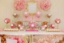 Party Decor - Desert & Candy Tables / by Annamaria Cysneiros