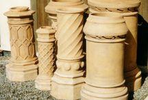 Chimney & Chimney Pots / by Storybook Homes