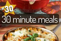 """FOOD: """"Fast"""" Food / Meals made in 30 minutes / by Letty Blanchard"""