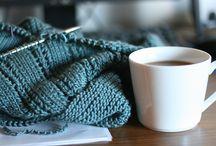 knitting.... / by Polly Kramarsic