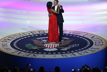 President And First Lady  / Michelle Obama, Barack Obama's, fashion, flotus, potus / by MãƦŁëńå FĕŁŦŐŋ