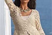 Blusas a crochet / by Delmi Morillo