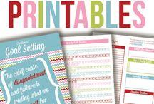 Printables! / by Brenda Estrada