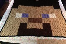 Minecraft Obsession / Planning a minecraft quilt  / by Kylie Hodges