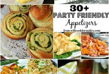 Appetizers and party food / by Patricia Ellis