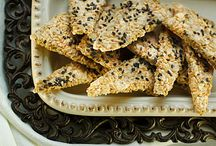 Low Carb Crackers for Robin / by aly vander