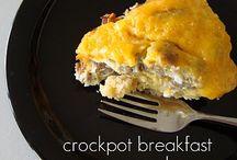 Breakfast food / by Sharon Vance
