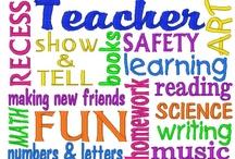 Teacher's stuff / by Sherry Brown
