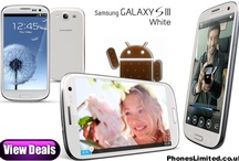 Samsung Galaxy S3 White Deals / Free White Samsung Galaxy S3 contract deals with the cheapest UK prices for line rental on pay monthly contracts. / by Phones LTD - Compare Cheap Mobile Phone Deals