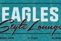 2013 #Eagles Style Lounge / The NFL Women's Style Lounge Presented by CoverGirl is coming to Lincoln Financial Field on October 26-27! Shop our newest gear made just for women, enjoy an Eagles manicure and talk to professional stylists about creating the ultimate game day outfit. Until then, check out some of pointers and tips on looking as stylish as possible in your #Eagles green. / by Philadelphia Eagles