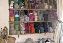 Yarn Storage / by Calming Stitches