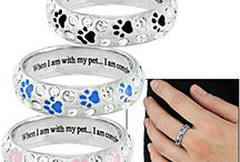 Paw Print Jewelry  / Every Purchase Funds Food and Care for Rescued Animals.  / by GreaterGood