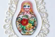 Matryoshka / Matryoshka themed gifts & baby shower ideas / by Lia LT