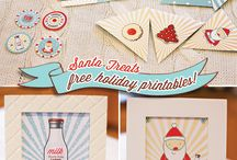 CHRISTMAS - Free Printables / by Little Housewife