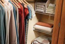Organization CLOSETS / by Stacie Smith-Ocker