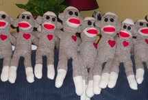 I heart Sock Monkeys / Sock Monkey-aholic
