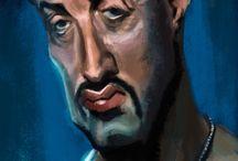 Silvester Stallone(Rambo&Rocky) / by Seyhan Eser