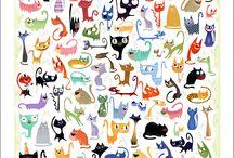kitties  / Love them kitties but hate that litter box / by Susan Reynolds