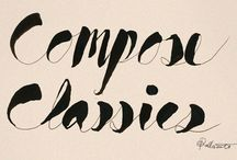 typography/lettering/doodles / by Sela Sand