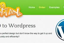PSD to WordPress Service / Get hand coded, w3c valid PSD to WordPress Service at best price. Get rapid, affordable PSD to WordPress service from psdtowordpressexpert.com / by PSDtoWordPressExpert .