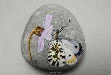 Painted rock stones / by Barbora Klimova