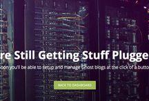 Ghost / Ghost Blogging Plattform / by Martin Steiner