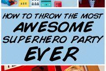 Superhero Birthday Party / by Chris Crory