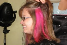 Pink streaks! / by Amanda Briede