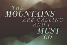 Mountain LOVE... / My love of the mountain lifestyle: hikes, glorious nature, folk art and peace! / by Lauren Bausch O'Quinn