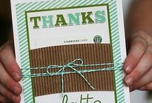 Gift & Card Ideas / Gift and Card Ideas / by Faith Herring