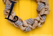 Wreaths / by Southern Savers - Jenny