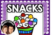 ♥ Snacks @ School ♥ / by Nicole and Eliceo