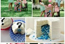Gender reveal party / by Lindsey Wilson