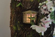 Ancestors and doll houses - Inspiration / It started with ideas for an ancestors house so they'd feel welcome any time but then it grew... / by Veronique Blommaart