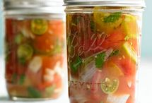 recipes-canning and preserving / by Heather S
