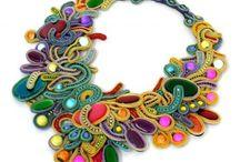 SOUTACHE.Necklaces / by Jolezz Sweet