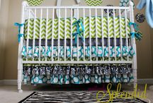 Sewing-baby bedding / by April Reed