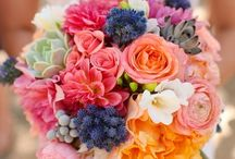 Flowers  / Centerpieces, Bouquets, and other wedding flowers.  Coral centerpieces, colorful centerpieces, tropical centerpieces. / by Zumbatini