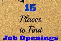 Jobs / by Jodie Umbarger DePhillip