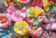 Fabric Squares & Circles / by PickYourPlum
