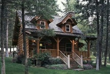 Cabin in the Woods / Hunting Cabins, Log cabins / homes / by Billi