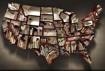 book art & library spaces / by Elizabeth Salerno