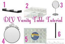 Makeup vanity table / by Kody Ayhan