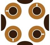 Coffee Fabrics  / From Germany 2 http://www.stoffn.de/profil/user/Umbelas.html / by UMBELAS