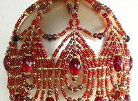 Bead Ornaments / by Kris