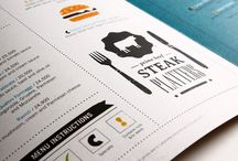 Menu Design Inspiration / by Tim Chung
