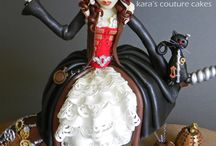 Steampunk Cakes Ideas / by Dynamite Cakes
