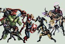 Marvel comics / by Scott Bennett