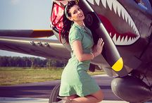 Pinups, Nose and Plane Art / Generally about art on a plane / by Lunarfour