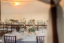 Destination Chic Wedding / My dream destination wedding includes a chic wedding gown and accessories perfect for an elegant beach wedding for our vow renewal ceremony. / by Amie Olson